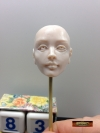 Making OOAK Doll Head Face with Sculpted Eyes – Part 4