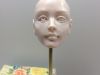 Making OOAK Doll Head Face with Sculpted Eyes – Part4